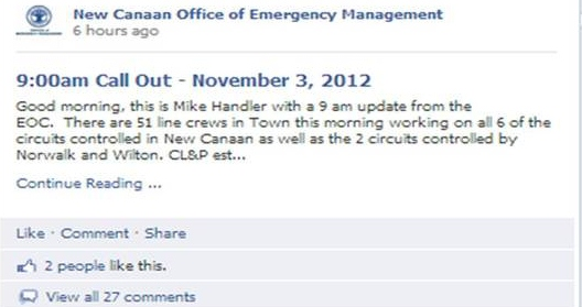 Mike Handler OEM Facebook Post