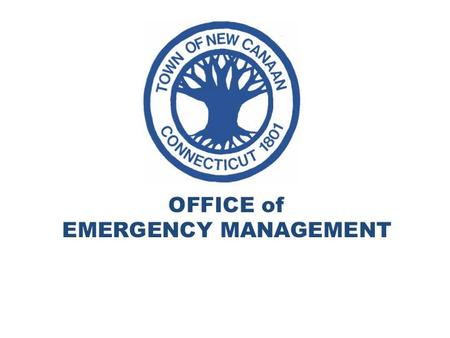 New Canaan Office of Emergency Management