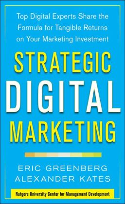 Strategic Digital Marketing Book