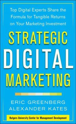 Strategic Digital Marketing Book