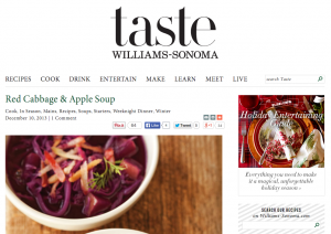 William Sonoma Taste Blog