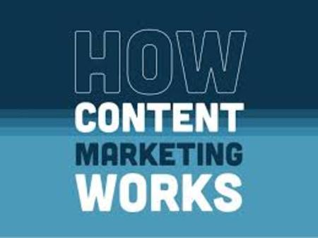 How Content Marketig Works