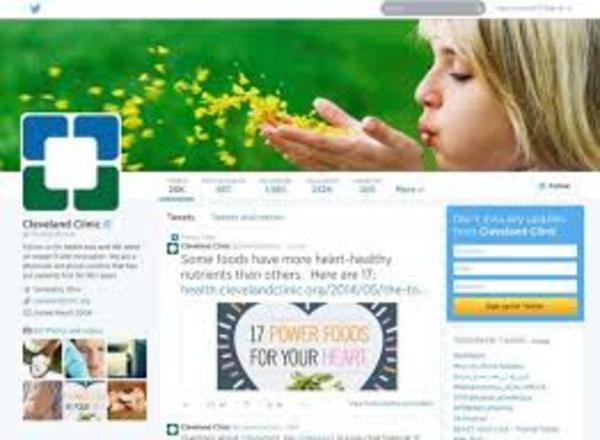 Cleveland Clinic - social media engagement