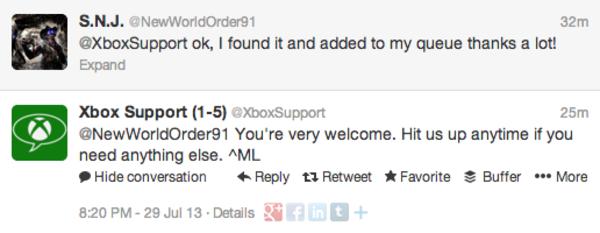 Xbox - social media engagement