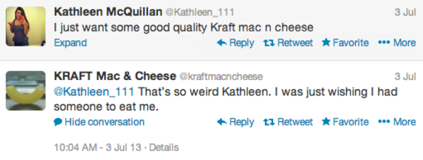 Kraft - social media engagement