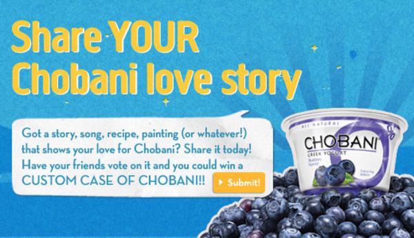 Chobani - social media engagement