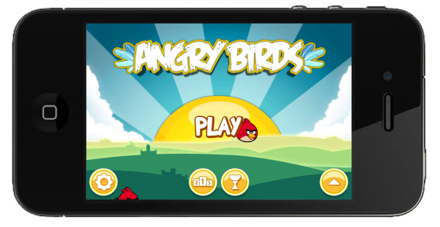 mobile apps Angry Birds
