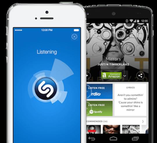 mobile apps Shazam