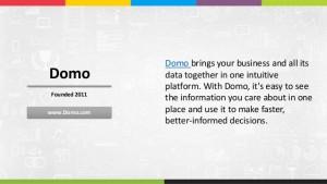 Big Data Companies - Domo