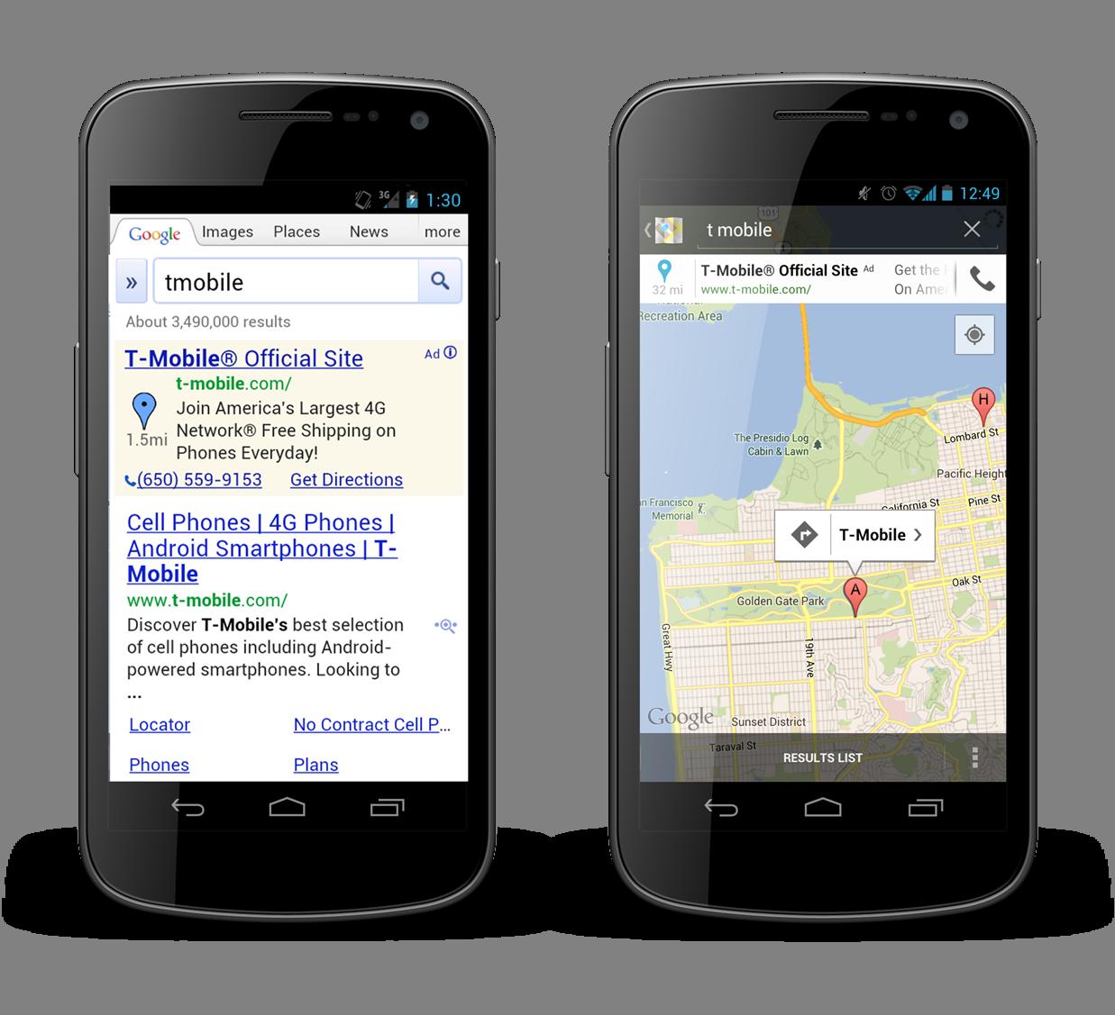 mobile search behaviors