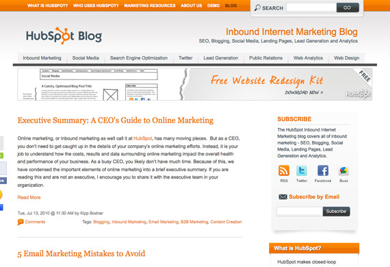 successful company blogs #6