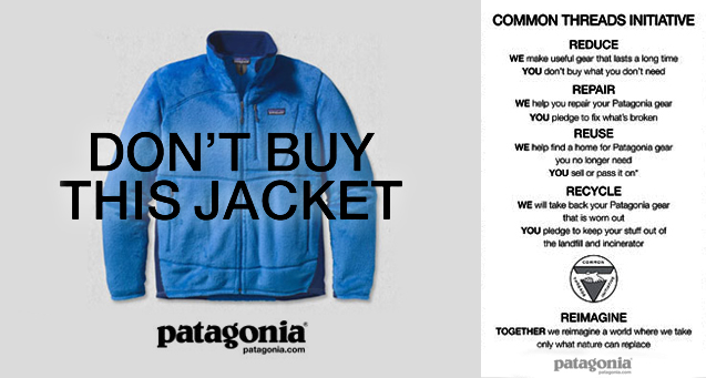 customer loyalty programs - patagonia common threads