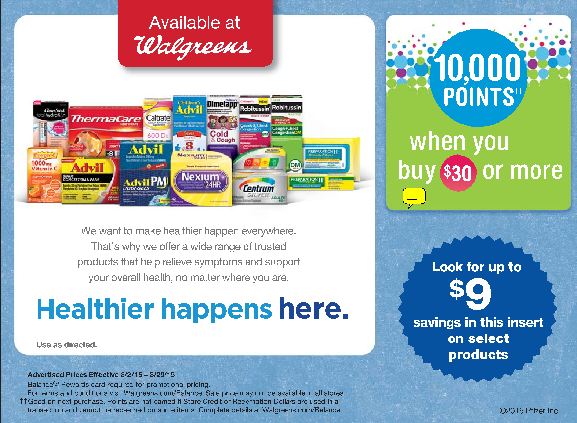 customer loyalty programs - walgreens balance rewards
