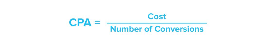 Marketing KPIs - CPA