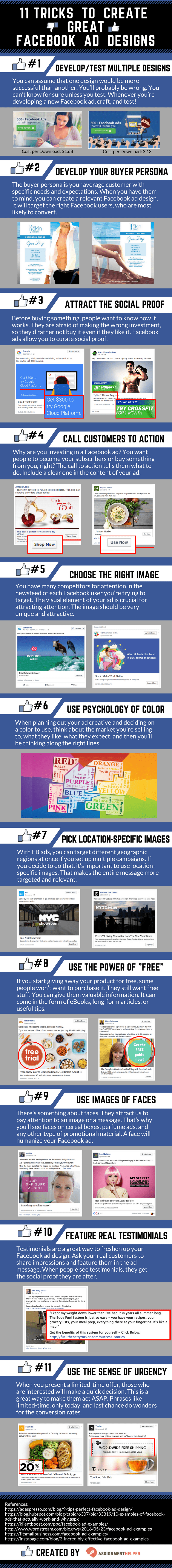 Facebook Ad Designs