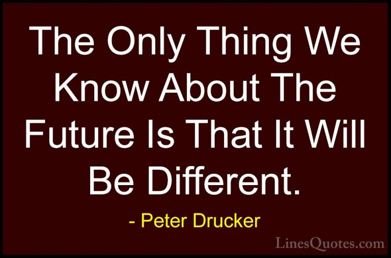 Peter Drucker Quotes #12