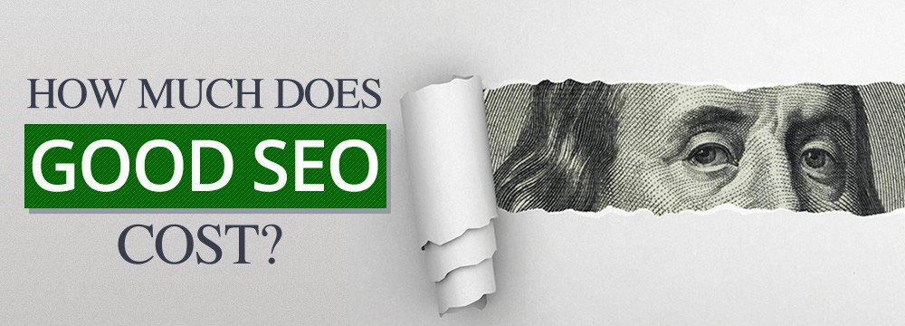How much does good SEO cost? What the numbers say