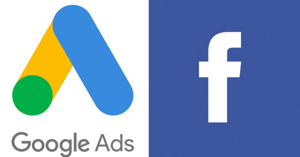 Google and Facebook ad